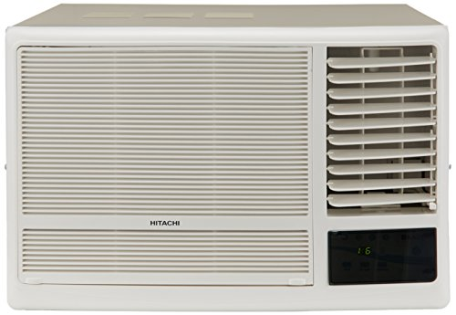 Hitachi 1.5 Ton 5 Star Window AC (RAW518KUD New Kaze Plus, White)