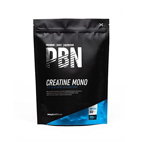 PBN Creatine Monohydrate 500g Pouch