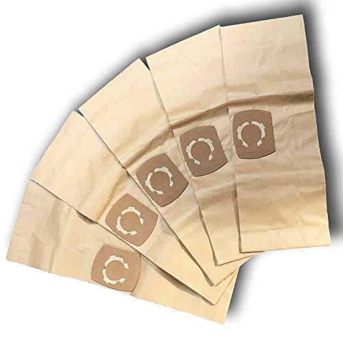 5 Staubsaugerbeutel für Stihl SE 62 E, Staubbeutel Filtertüten SE62E (643)