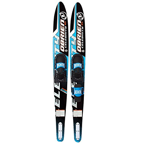 O'Brien Celebrity Combo Water Skis with 700 Bindings, Blue, 68'
