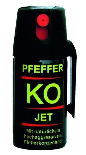 Pfefferspray Jet 40 ml mit 2,5 Mio. Scoville Schärfegrad …