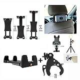 MeetRade Stativ-Adapter für iPad / Tablet, mit Schnellspanner-Rohrschelle für...