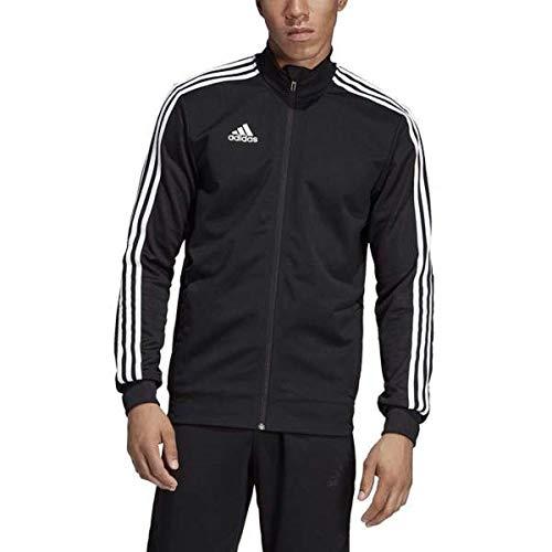 adidas Men's Tiro 19 Track Suit (L Jacket/L Pant, Black/White)