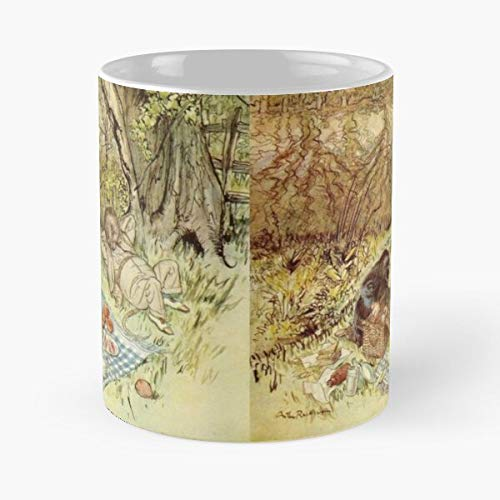 Arthur Wild In Wood Food Rackham Mole Rat Grahame Kenneth Willows Wind Picnic The Best 11 Ounce Ceramic Coffee Mug