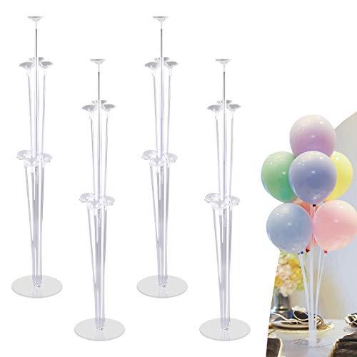 O-Kinee Supporto Palloncino Balloon Tree Kit 4pcs,Accessori per Decorazioni per Palloncini,Supporto Palloncini,Palloncini Sticks Supporti per Matrimoni,Compleanni,Anniversari,Feste Decorazione (4pcs)