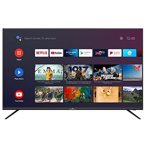 SMART TECH TV LED UHD 4K Android/Netflix 55' 138cm, T2/S2/C, Dolby Audio, SMT55F30UC2M1B1