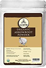 Naturevibe Botanicals Organic Arrowroot Powder, 16 Ounces | Arrowroot Flour or Starch | Gluten Free and Non-GMO | Manihot ...