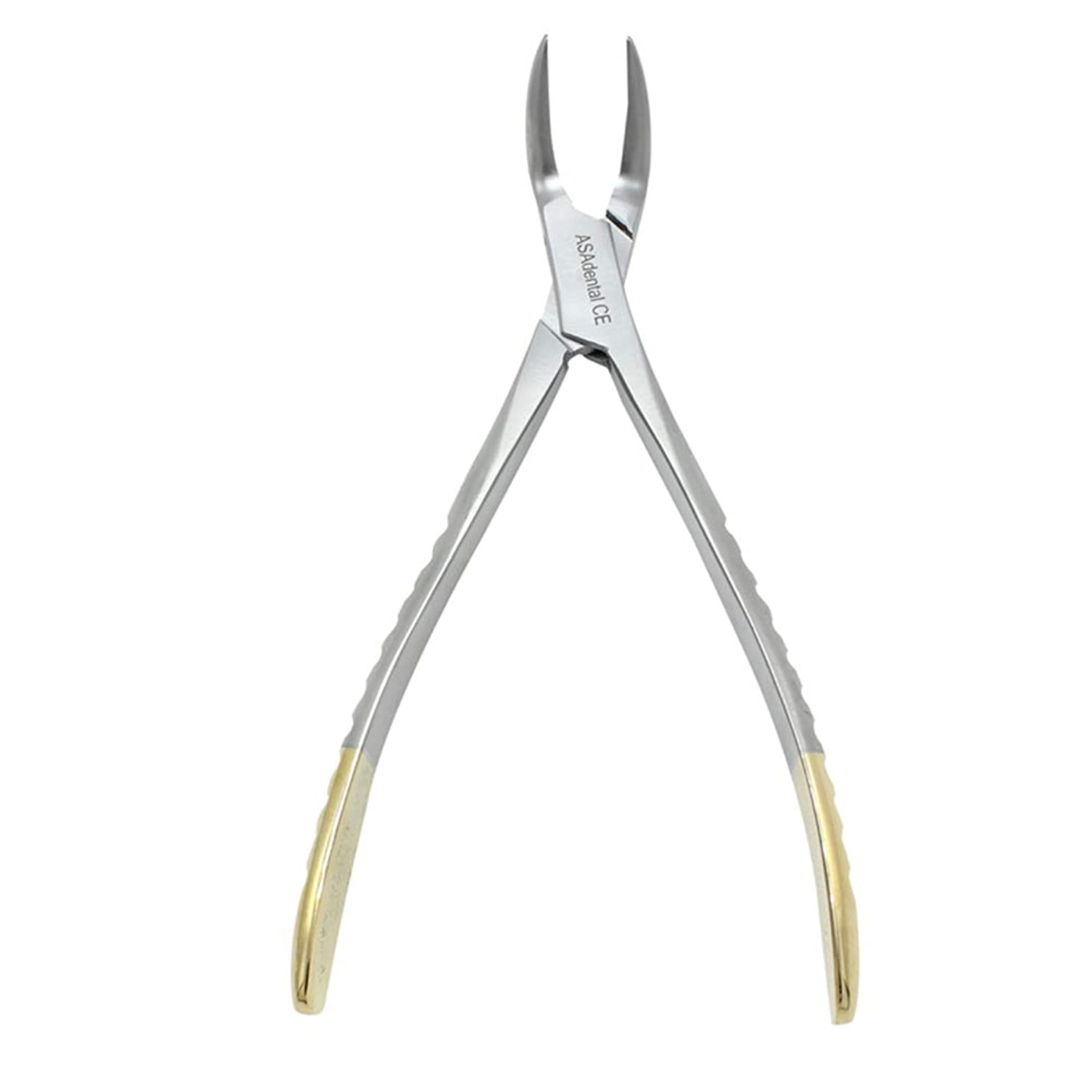 家事ガードだますSUPVOX 歯科用プライヤーステンレス鋼残留歯根鉗子湾曲ピンセットデンタルケアツール