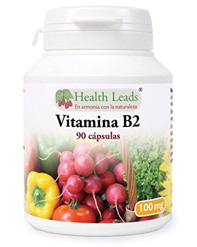 Vitamina B2 100mg x 90 cápsulas, Sin estearato de magnesio o aditivos nocivos, sin OGM, Vegano, La riboflavina ayuda con el cansancio, la fatiga, y a mantener los niveles de energía, Hecho en Gales