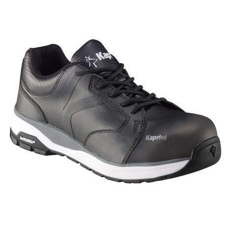 KAPRIOL Estoril - Zapatillas de seguridad, Negro (Negro ), 42 EU