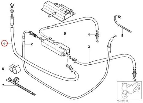 BMW Inexpensive Genuine Motorcycle Bowden Cable discount Distributor Accelerato