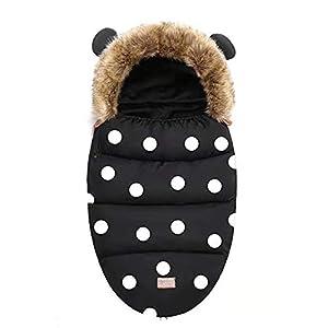 Saco de Silla Sacos de Abrigo Carritos Universal Saco de Invierno Térmica con Capucha Aire Libre Windproof Adecuado para…