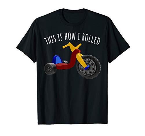 Nostalgic Love 70s 80s Vintage Retro Toys Big Tricycle Wheel T-Shirt