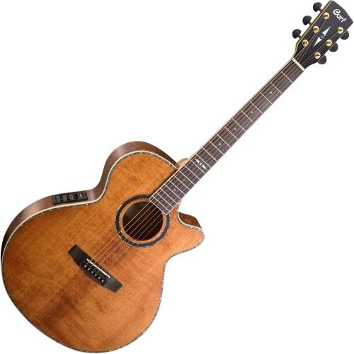 Cort Sfx10 Westerngitarre im Antik-Look, Braun