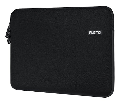 Plemo Sleeve Case Nero per Laptop / Borsa per PC Portatili / Custodia Morbide / Ventiquattrore Cartella Involucro per Notebook / MacBook / MacBook Pro (13-13.3 Pollici)