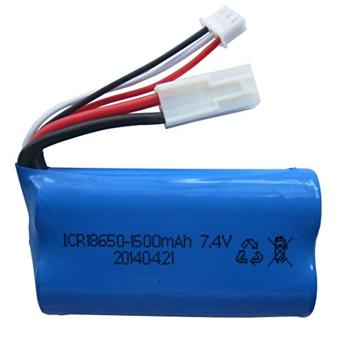 Upgraded 7.4V 1500mAh Lipo Battery for Feilun FT009 RC Boat Spare Parts