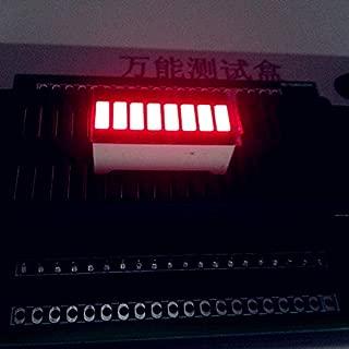 20pcs 8 Grid Digital Segment LED Light Bar 8 Flat Tube of Super Bright Red