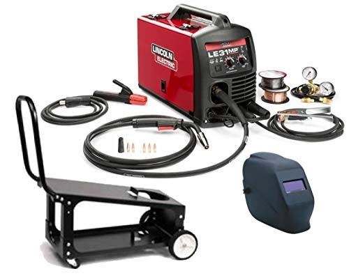 professional Lincoln K3461-1Hc Le31Mp multi-process welder, mig, wig, stick with cart and Adf helm