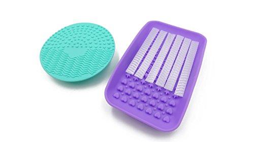 Limpiador De Brochas Silicon marca Maquillali