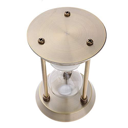 FLAMEER 1 pièce 15/30/60 Minutes Sandglass Time Count Sand Timer - 22cm 30 Mins