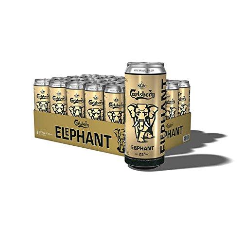 36 Dosen a 0,5L Elephant Carlsberg Starkbier 7,5% Bier Elefant inc. 9 Euro EINWEG Pfand