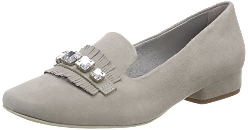 Be Natural Damen 24241 Slipper, grau (Lt. grey), 38 EU