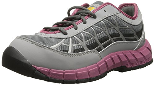 Caterpillar Women's Connexion Steel Toe Work Shoe, Grey, 5 M US