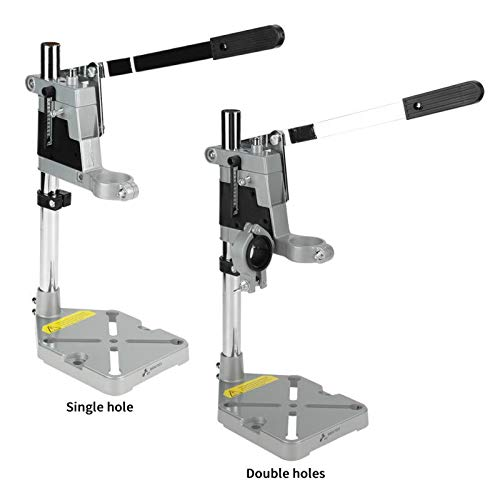 Best Price! Tool Parts Clamp Drill Press Stand Workbench Repair Tool Drilling Aluminum Base Pillar P...