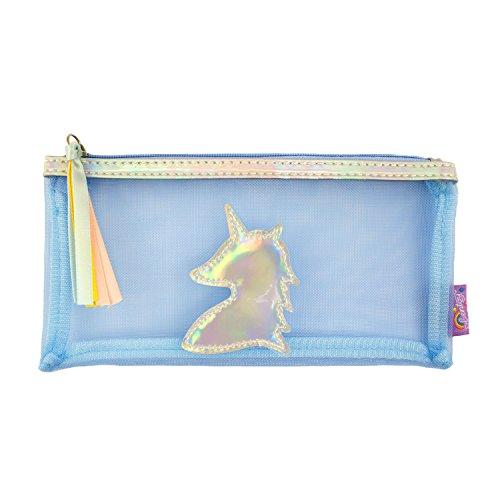 Oblique-Unique® Licorne Trousse de toilette Unicorn couleur effet miroir cosmétique sac trousse