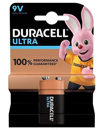 Dynamische Leistung DURACELL - 5000394002951 - Akku, ULTRA Leistung, 9 V, 1 Stück - DURALOCK