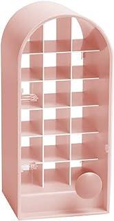 ExH Lippenstift Houder,Lippenstift Houder Case Lipstick Make-up Organizer Lip Gloss Organizer 18 Ruimte Lipstick Opslag Ra...