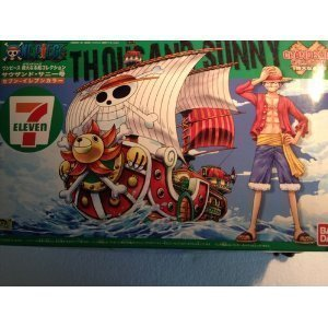 Ship collection thousand sunny mighty seven eleven color one piece (japan import)