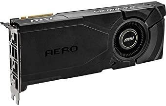 MSI Gaming GeForce RTX 2080 Super 8GB GDRR6 256-Bit HDMI/DP Nvlink Turing Architecture Overclocked Graphics Card (RTX 2080 Super Aero)