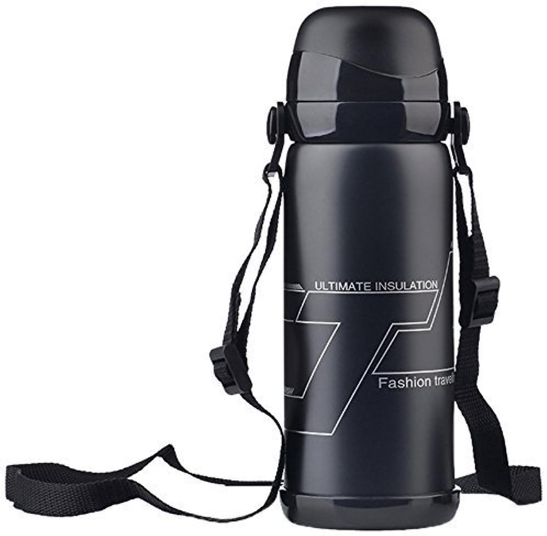 Vankneny Double Insulated Stainless Steel Outdoor Leak Proof Sport Water Bottle Portable, 27 oz.