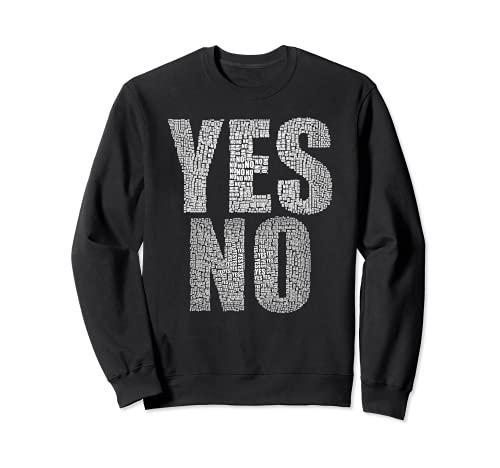はいいいえ未定多分気にしない多分#YesNo トレーナー