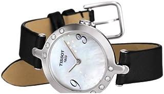 Flamingo T0032096711200 - Reloj de Mujer de Cuarzo, Correa de Piel Color Negro