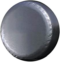 PMD Products Spare Tire Cover Vinyl Black with Innerliner Fits All 27