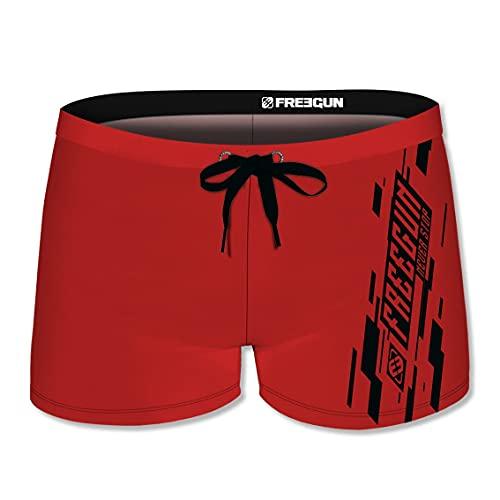FREEGUN Boxer de Bain Homme uni Taille XL
