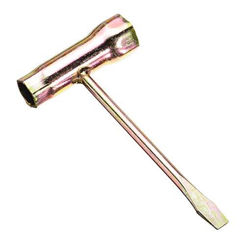Llave de motosierra de 3 / 4''X1 / 2 '', herramienta de llave en T para piezas de motosierra