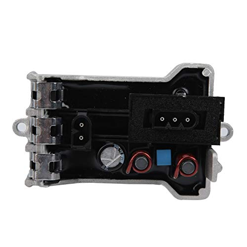 aqxreight - Resistencia del motor del ventilador HVAC, módulo de control del motor del ventilador HVAC Resistencia para 745i 745Li 750i 750Li 760i, reemplaza 64116934390