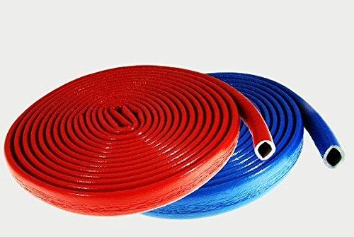 Isolierschlauch Rohrisolierung 22/6 blau Länge : 10 Meter