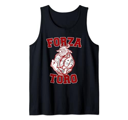 Forza Toro tifo granata Curva Maratona calcio Torino Canotta