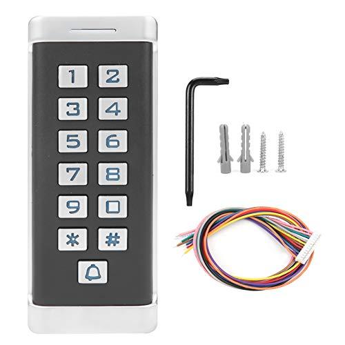 Tarjeta RFID Control de acceso Teclado Sistema de acceso a la puerta Control de acceso de seguridad para oficinas Lugares públicos Almacén Residencial Quaters