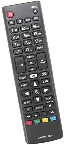ALLIMITY AKB74915324 Reemplace el Control Remoto por LG Smart TV 32LH590U 43UH610V 49LH590V 49UH610V 49UH661V 55UH6159...