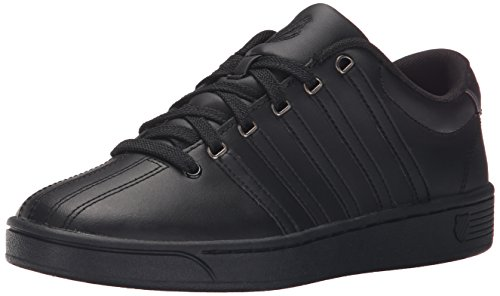 K-Swiss Women's Court Pro II CMF Athletic Shoe, Black/Gunmetal, 7 M US