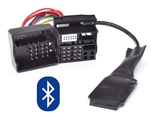 Bluetooth Musik Adapter geeignet für BMW E39 E46 E53 X5 Z4 E83 X3 Flachpin 40pin Quadlock New Generation Radio