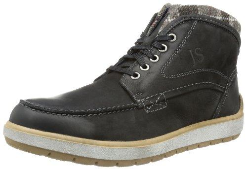 Josef Seibel Herren Rudi 02 Desert Boots, Schwarz (schwarz 600), 46 EU