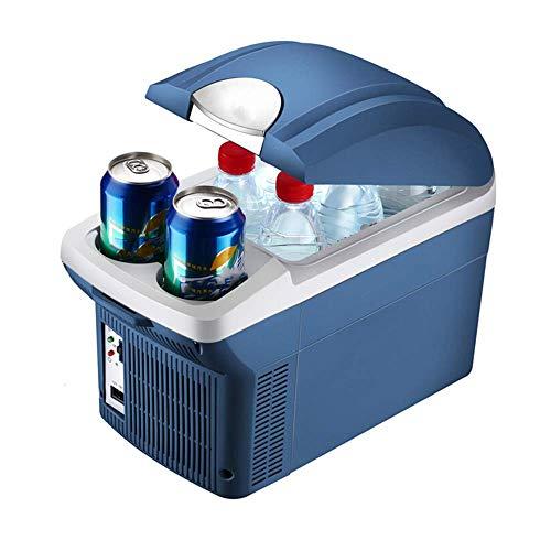 Koelkast, draagbaar, koud, koud, draagbaar, mini-koelkast, 8 liter, kleine, elektrische koelkast, koelapparaat (Muto)