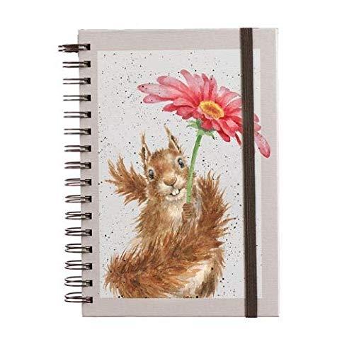 Wrendale Designs Notizbuch mit Eichhörnchen-Motiv
