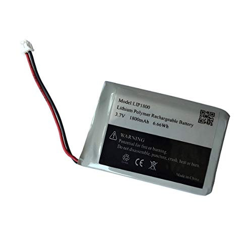 3.7v 1800mAh LiPo Battery for Sony Dual Shock 4 Cuh-zct2u Cuh-zct2e PS4 Pro Wireless Controller Battery Replacement - (Cuh-zct2u Battery for PS4 Pro)